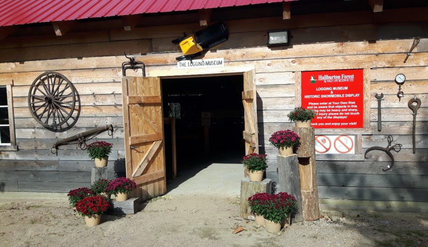 Haliburton Forest Logging Museum 7