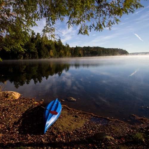 From Holiday Units at the entrance to Haliburton Forest, to exclusive waterfront car-camping.