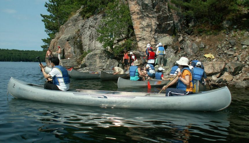 Haliburton Forest Canoeing