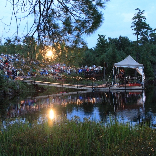 Buy tickets to events like the annual Forest Music Festival & themed tours.