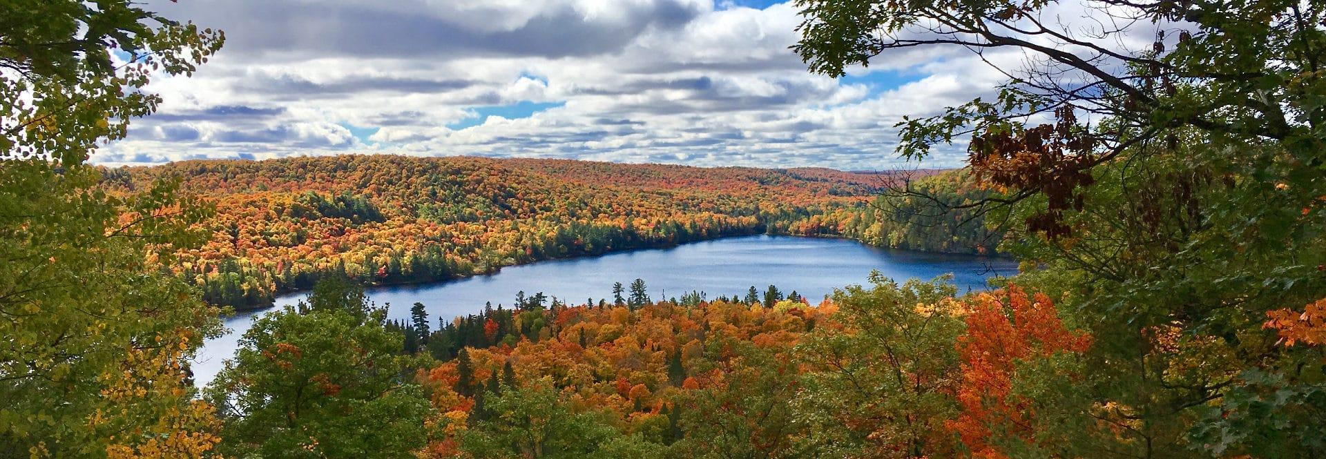 Haliburton Forest Autumn Views
