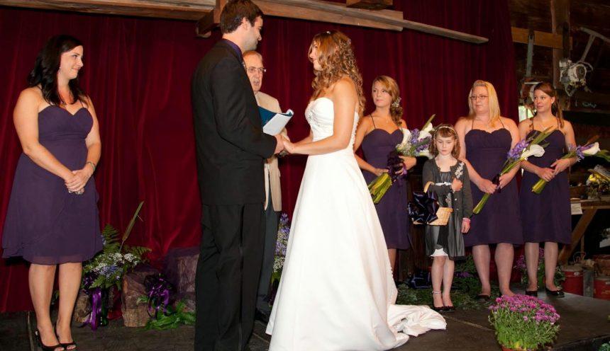 Haliburton Forest Wedding venue