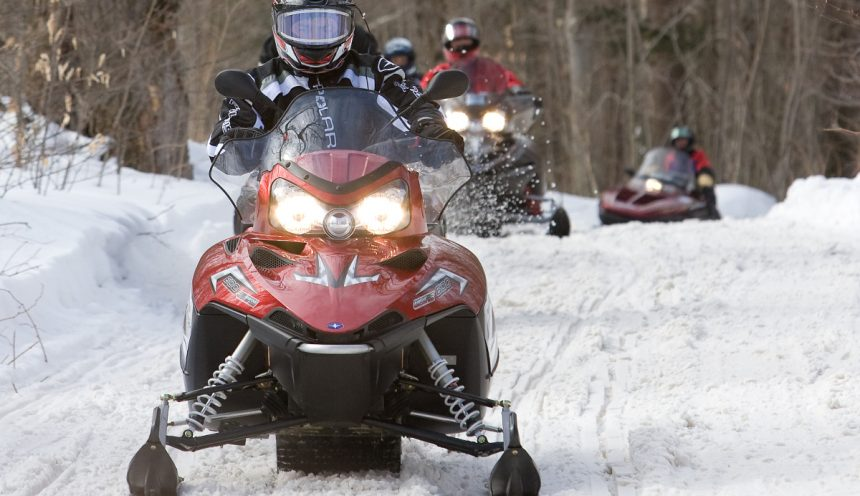 Haliburton Forest Snowmobile trails