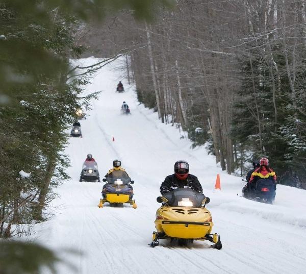 Haliburton Forest Snowmobiling Rentals 2
