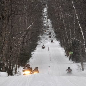 A Word About Snowmobiling Permit Fees