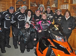 Poker Run with Arlene and her friends