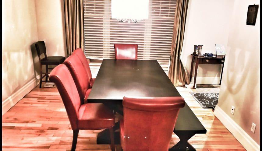 HFWoodshop - Custom Made Table