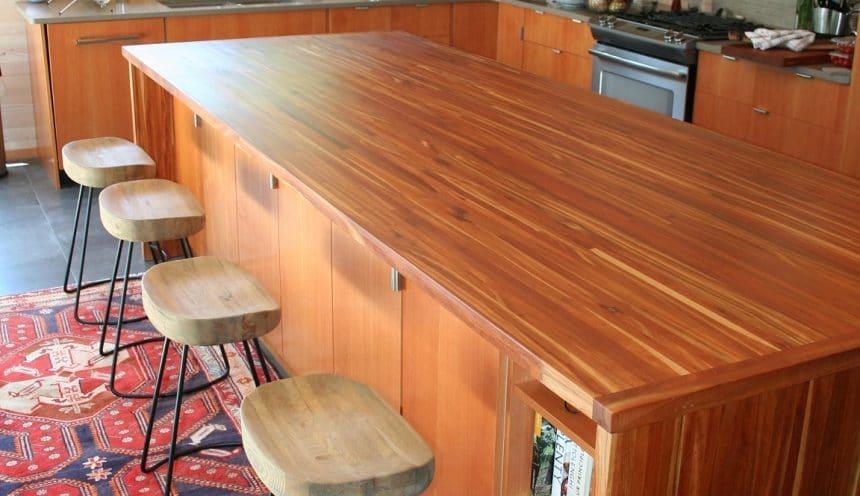 HFWoodshop - Custom Slab Kitchen Counter Top