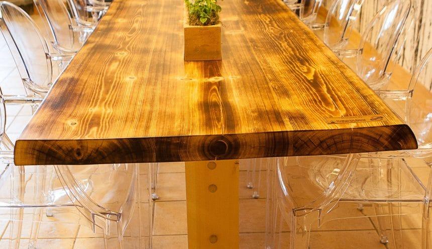 HFWoodshop - Custom Made Table 2