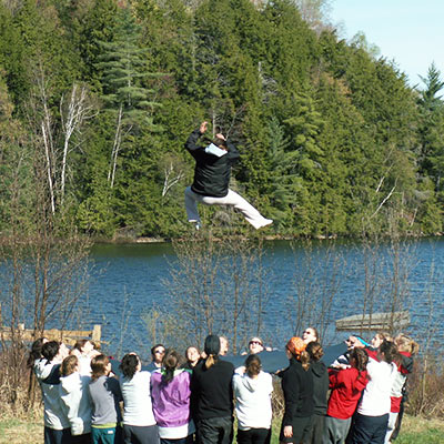 Conduct your own research or hold lectures at Haliburton Forest.