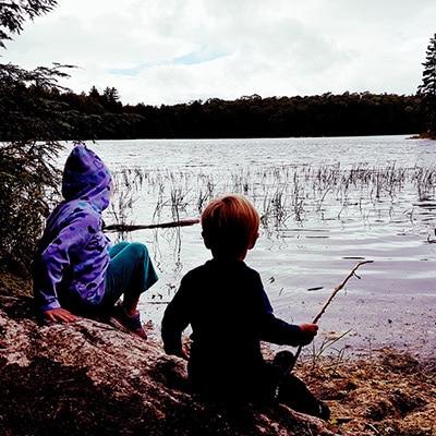 Kids at Haliburton Forest